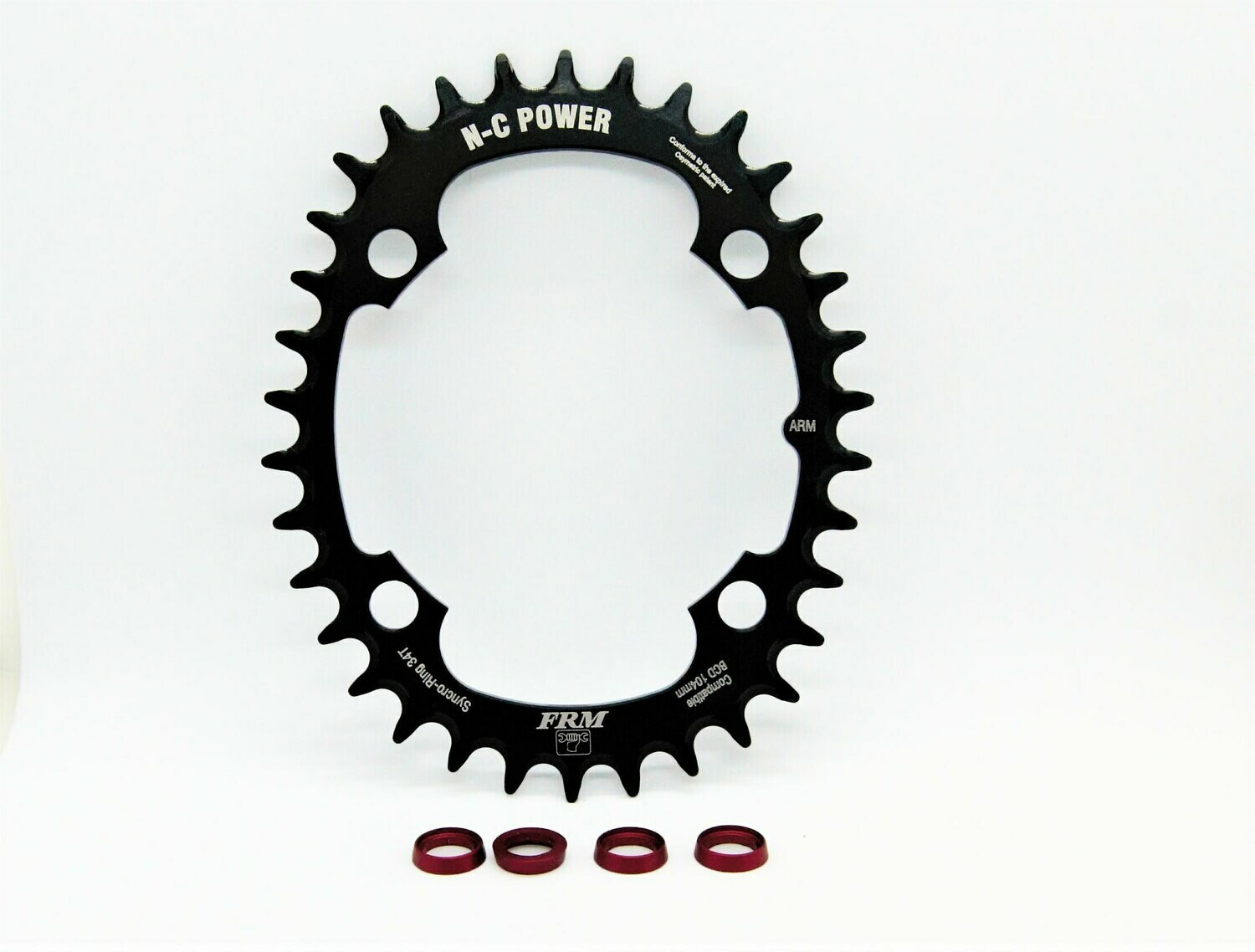 FRM N-C Power Chainring for Spider