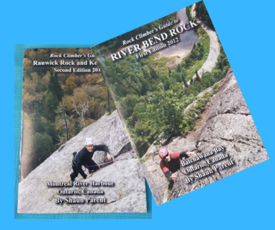 Rock climbing guidebooks (cash only)