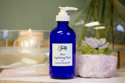 Aloe Hydrating Fluid with Lavender 8oz Pump Bottle