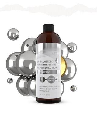 pH Balanced Alkaline SILVER SOLUTION