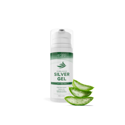 SILVER INFUSED GEL with Aloe Vera