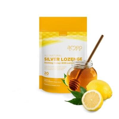 Honey Lemon Silver Lozenges