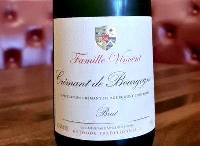 N.V. Crémant De Bourgogne-Brut-Domaine Vincent