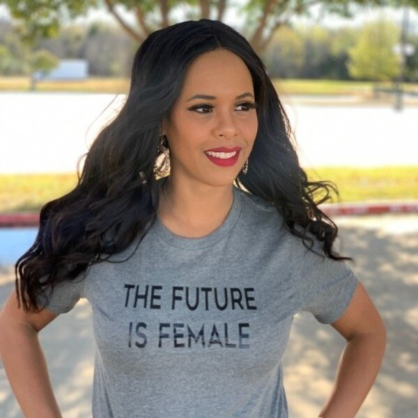 """""""The Future is Female"""" Gray T-Shirt"""