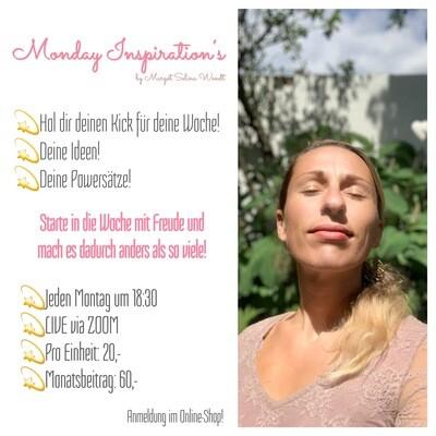 Monday Inspiration's - Monatsbeitrag
