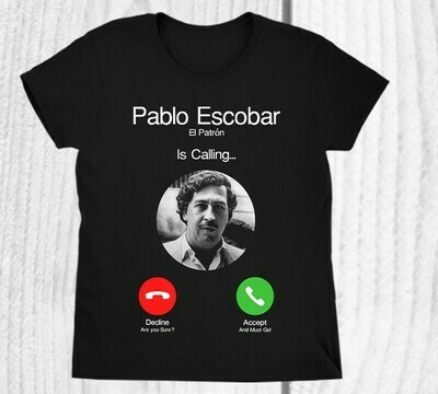 T-SHIRT PABLO ESCOBAR