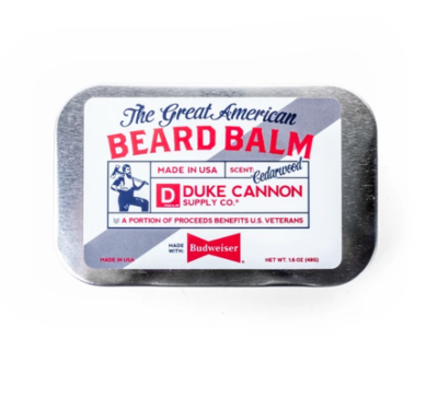 Great American Beard Balm - Made with Budweiser