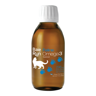 Baie Run Omega3 Cat Bacon Flavour 140ml