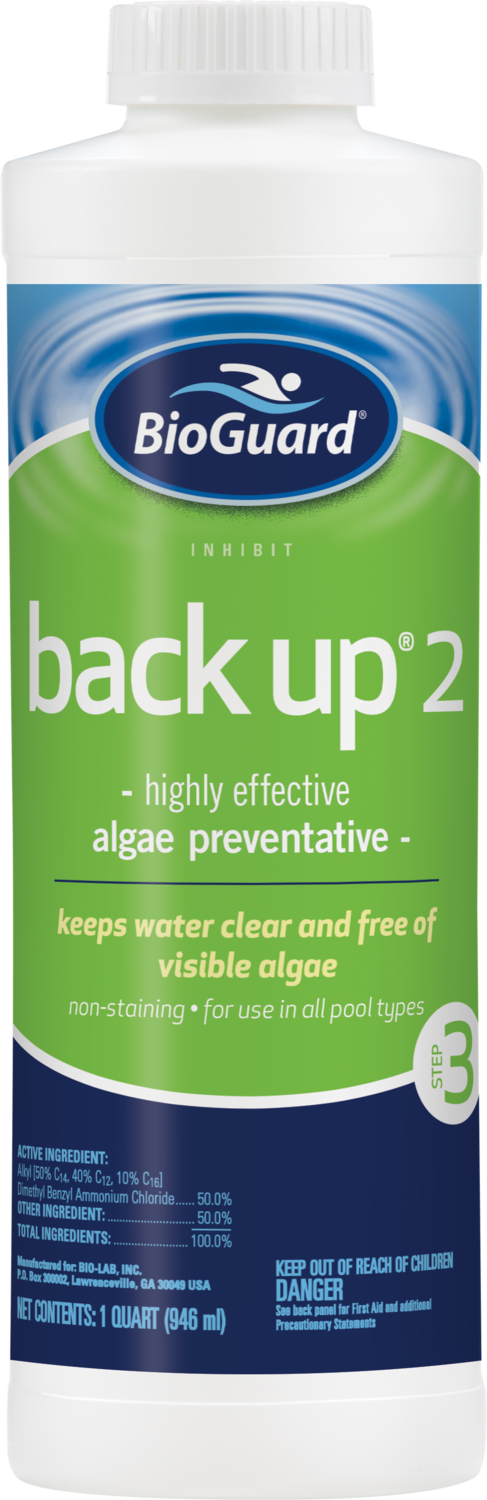 Back-up 2 Algae Inhibitor (32 oz.)