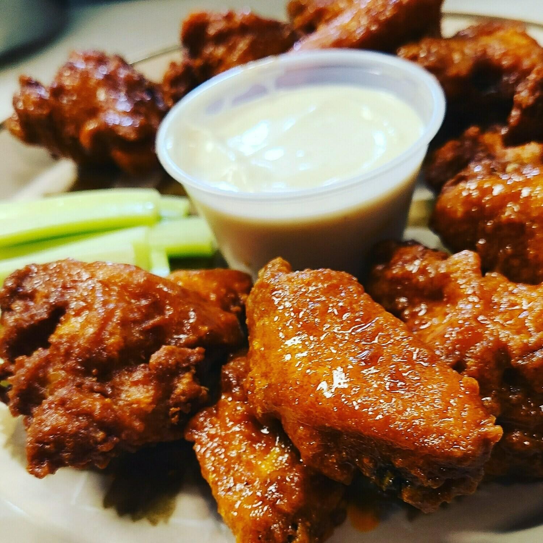 Add Buffalo Wings (1 dozen)