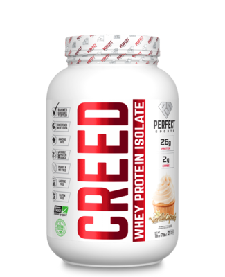 2 LB Creed Protein Isolate - Vanilla