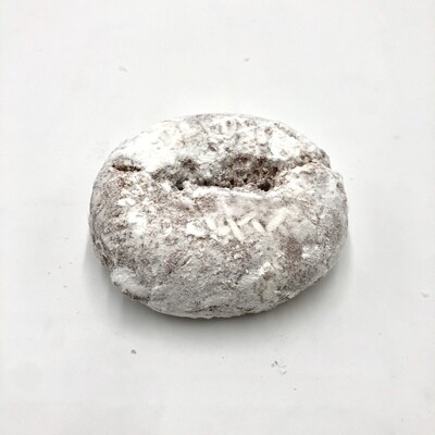 Powdered Sugar Cake Donut