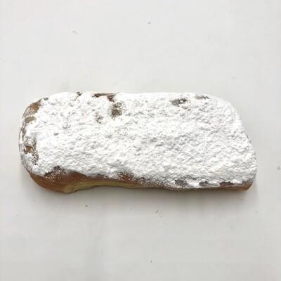 Powdered Sugar Cream Filled Long John
