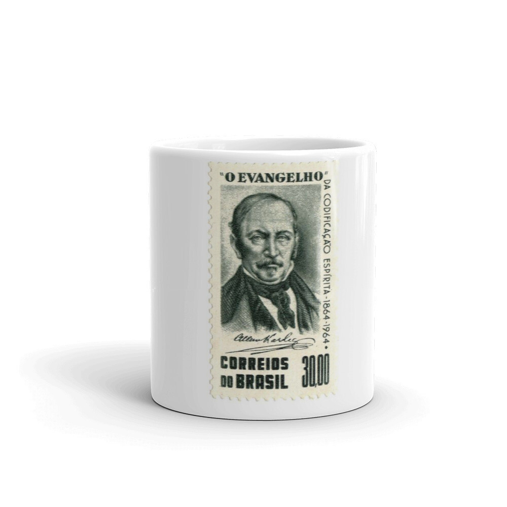 Allan Kardec Postage Stamp Coffee Mug