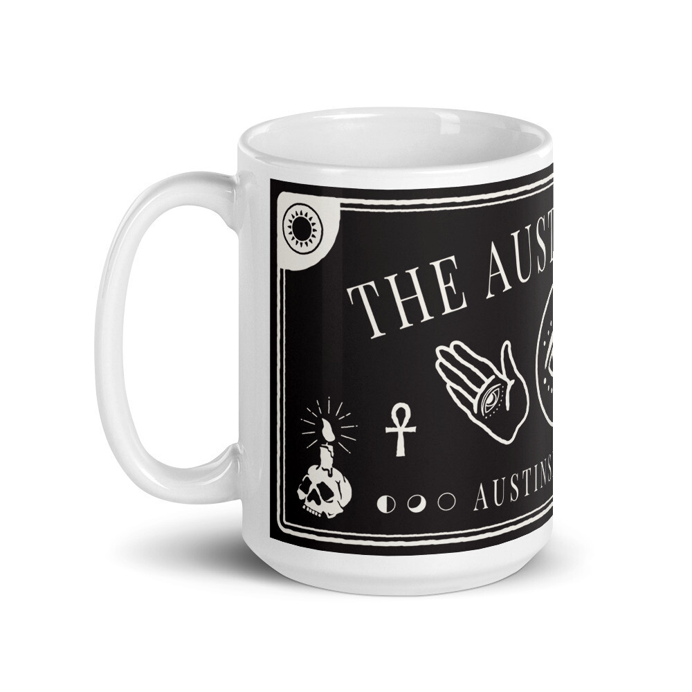 The Austin Séance Two Hands Mug