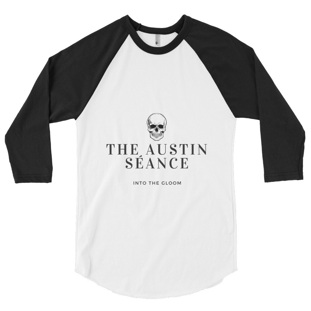 Into The Gloom 3/4 sleeve raglan shirt