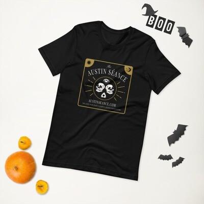 The Austin Séance Double Skulls Unisex T-Shirt