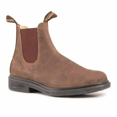 BLUNDSTONE - 1306 - Chisel Toe Dress Rustic Brown