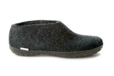 GLERUPS - Shoe Rubber Sole - Charcoal Black