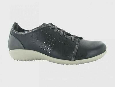 NAOT - Avena - Soft Black / Metallic Leather