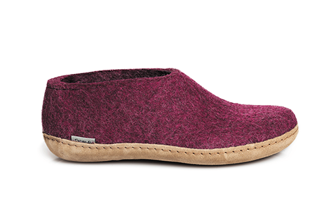 GLERUPS - Shoe Leather Sole - Cranberry