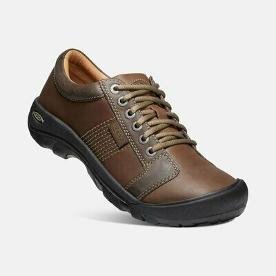 KEEN - Austin Casual Lace-Up - Chocolate Brown
