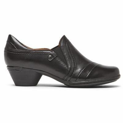 COBB HILL - Laurel Slip-On - Black