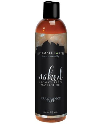 Intimate Earth Naked Massage Oil - 120 ml