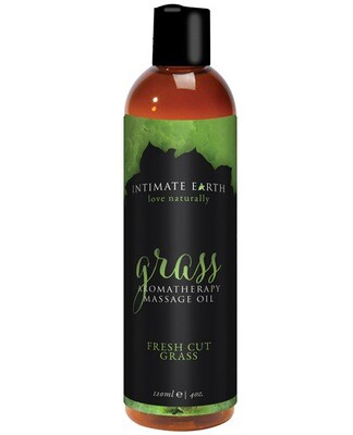Intimate Earth Grass Massage Oil - 120 ml