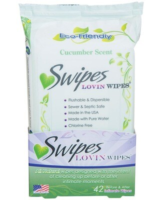 Swipes Lovin Wipes Pack of 42 Cucumber