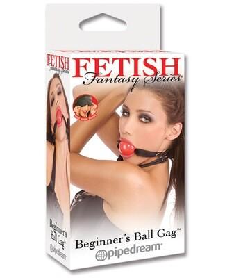 Fetish Fantasy Beginner Ball Gag Red
