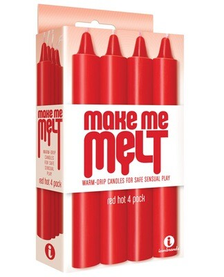 Make Me Melt Drip Candles Red