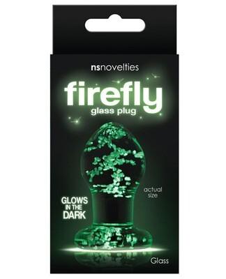 Firefly Glow Glass Plug Small