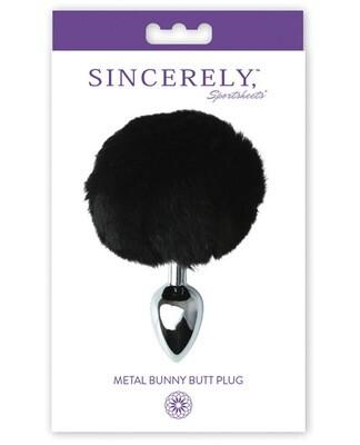 Sincerely Metal Bunny Plug