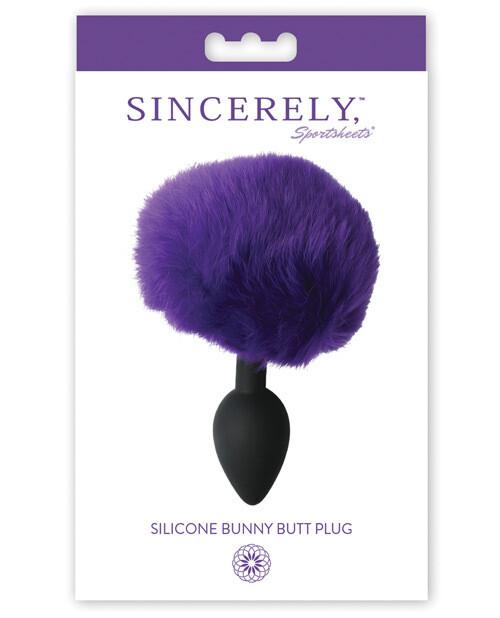Sincerely Silicone Bunny Plug