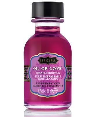 Kama Sutra Oil Of Love Raspberry Kiss .75floz