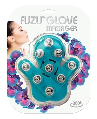 Fuzu Glove Massager Blue