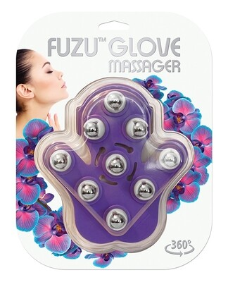 Fuzu Glove Massager Purple
