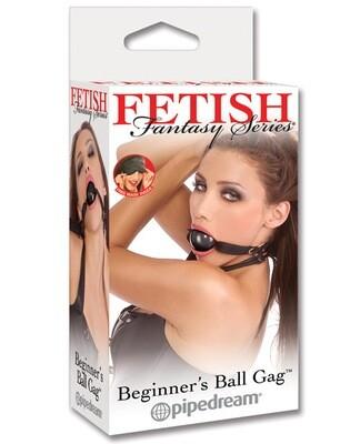 Fetish Fantasy Beginner Ball Gag Black