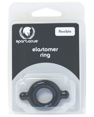 Elastomer Cock Ring Black