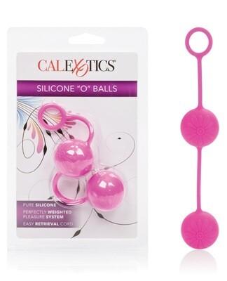 Posh Silicone O Balls Pink