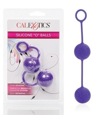 Posh Silicone O Balls Purple