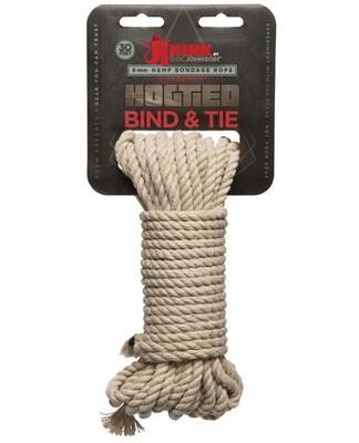 Kink Hemp Rope 30ft Natural