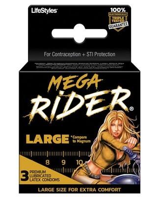 Mega Rider Large 3pk