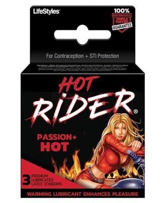 Hot Rider Hot Passion 3pk