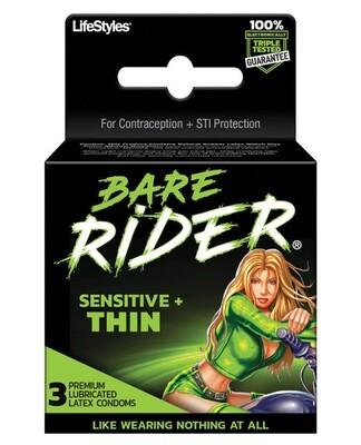 Bare Rider Thin 3pk