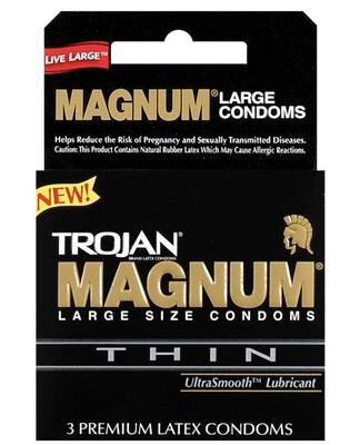 Trojan Magnum Thin 3pk