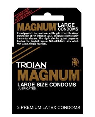 Trojan Magnum Original 3pk