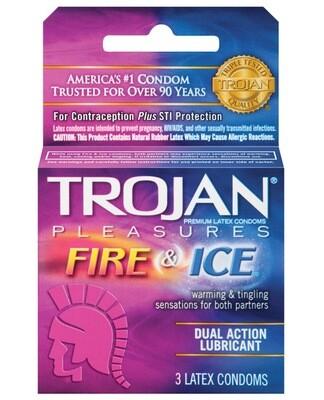 Trojan fire & Ice 3pk