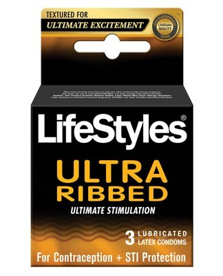 Lifestyles Ribbed 3pk